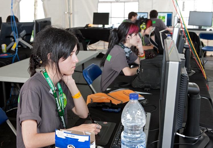 Les participants au  début de la  compétition.  4 août 2011 1x2743