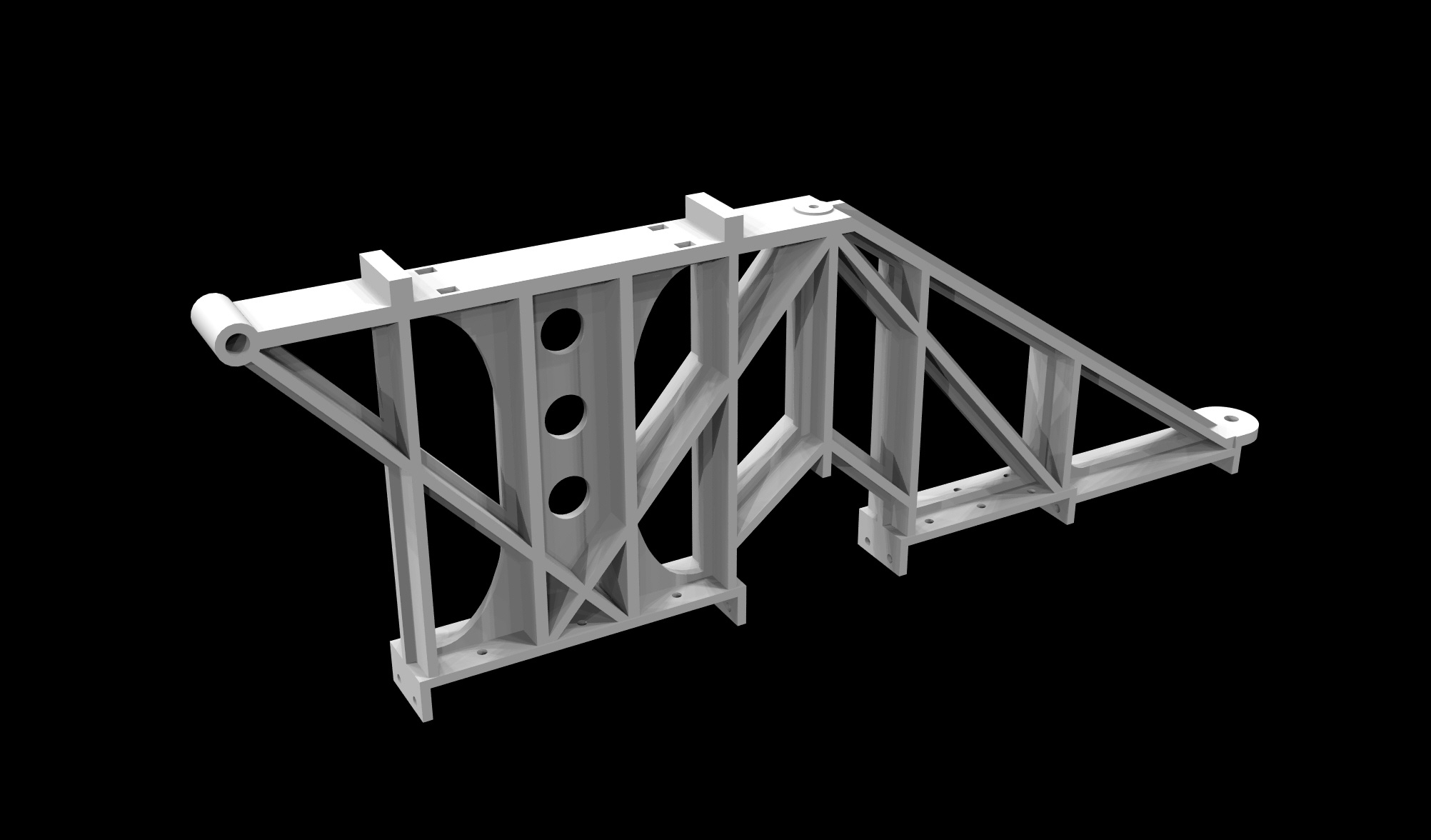 S.S. Beaver - Headstock Frame