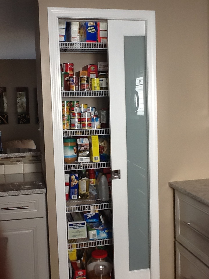 Custom pantry in kitchen