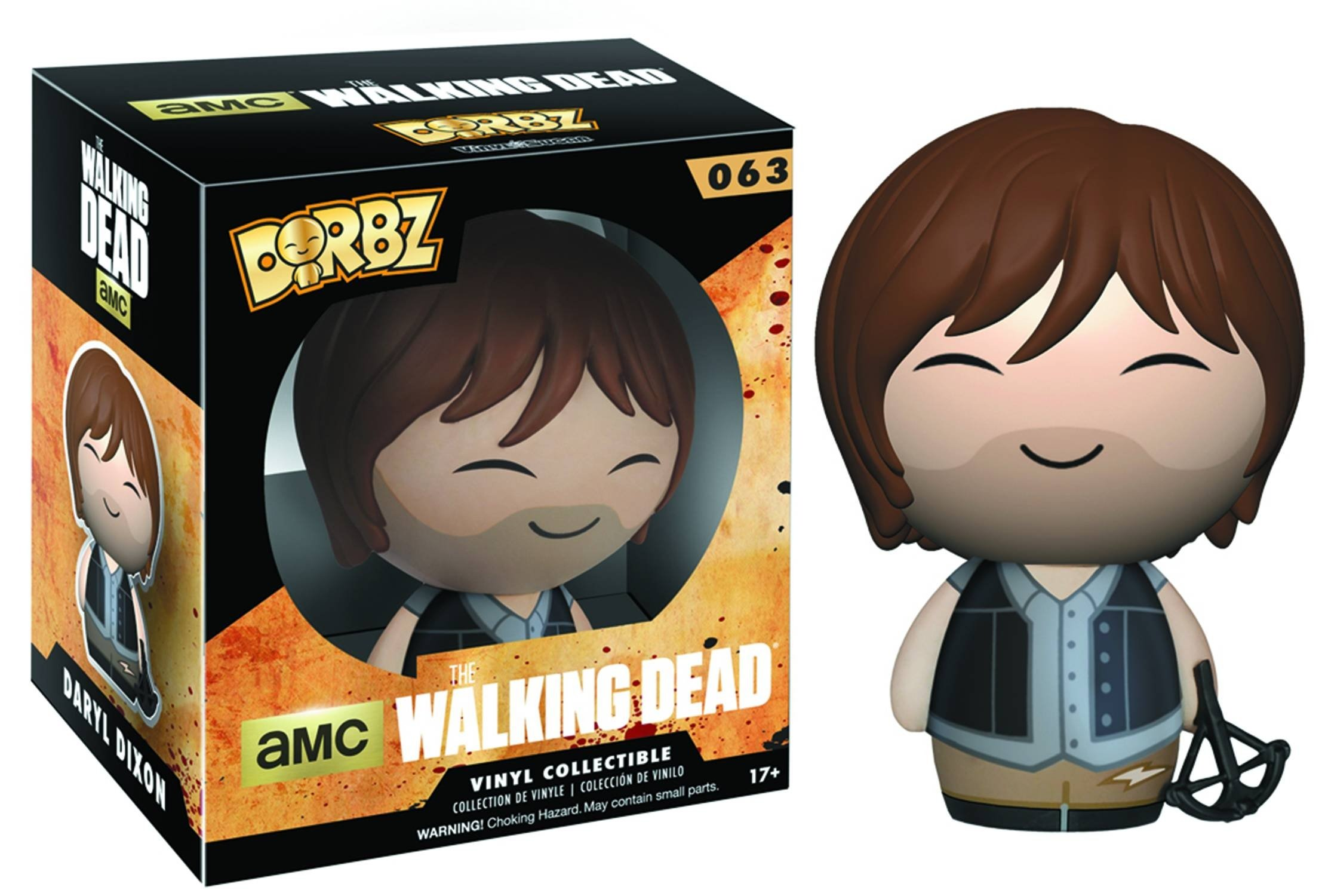 DORBZ WALKING DEAD DARYL DIXON VINYL FIG