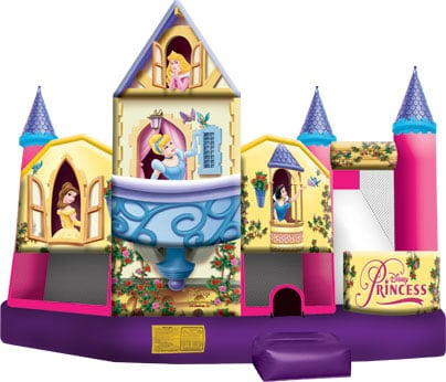Disney Princess 3D Bounce/Slide Combo