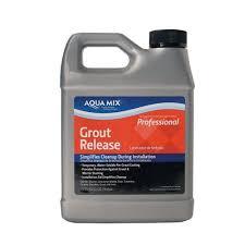 Aqua Mix Grout Release