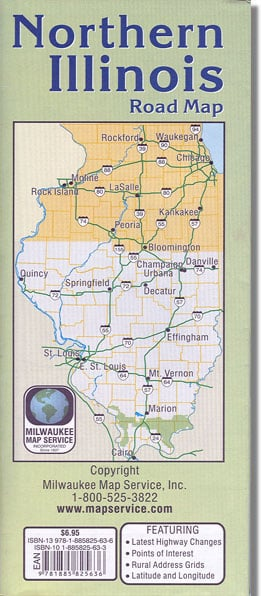 Northern Illinois Road Map
