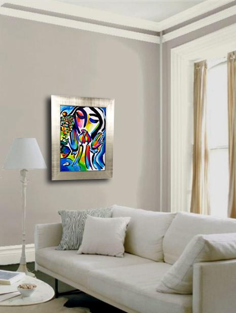 painting in a room example