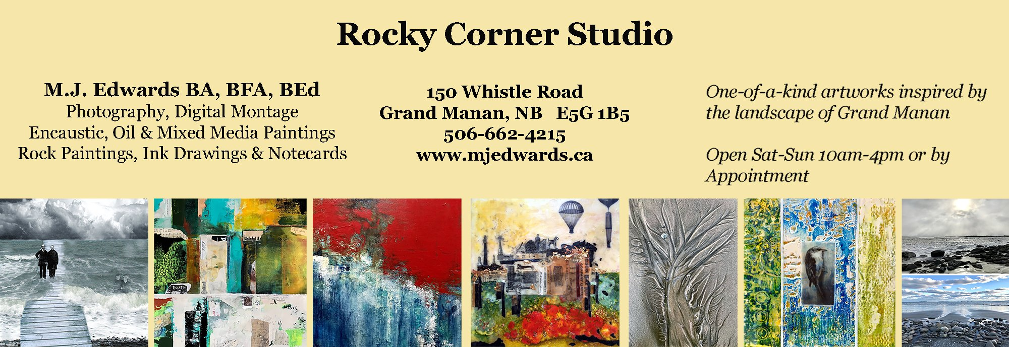 Rocky Corner Studio Artwork by M.J. Edwards