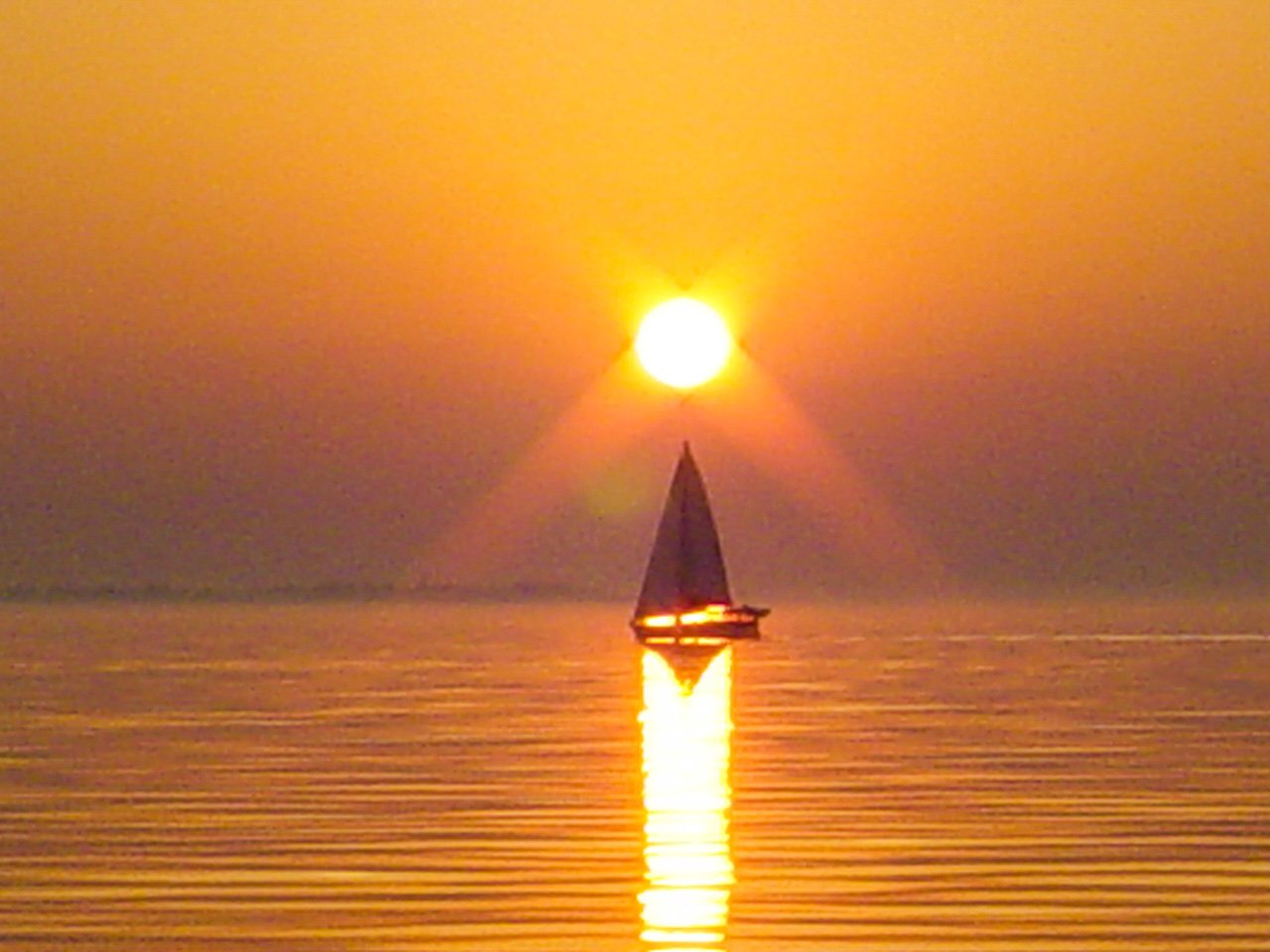 SAILING OFF INTO THE SUNSET, THE DREAM UNFOLDS!