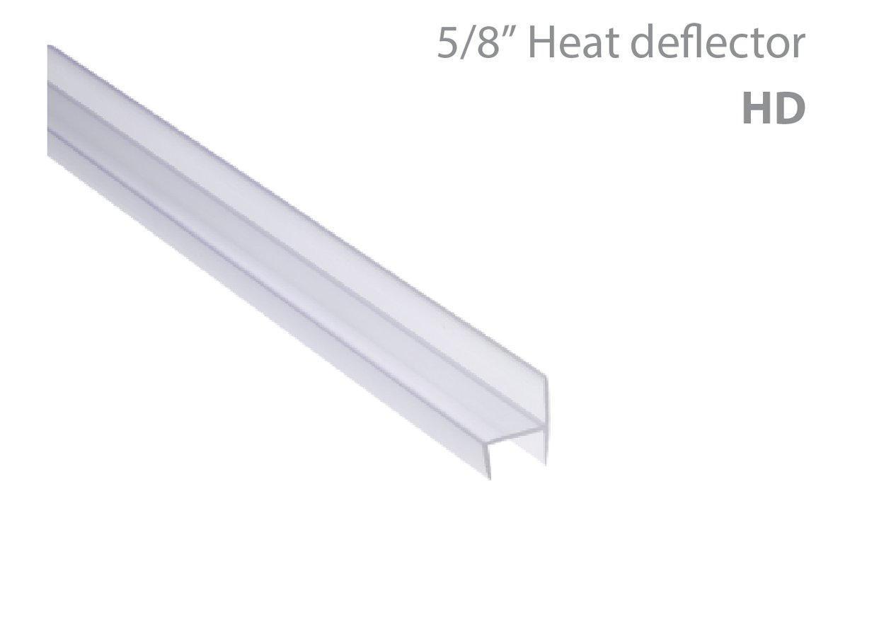 """5/8"""" Heat deflector"""