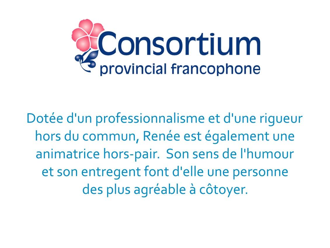 Éric Caron Consultant - technologie éducationnelle Consortium provincial  francophone (CPFPP)