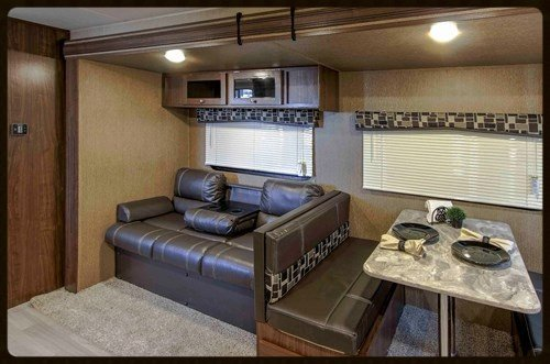 Dutchmen Coleman trailer interior