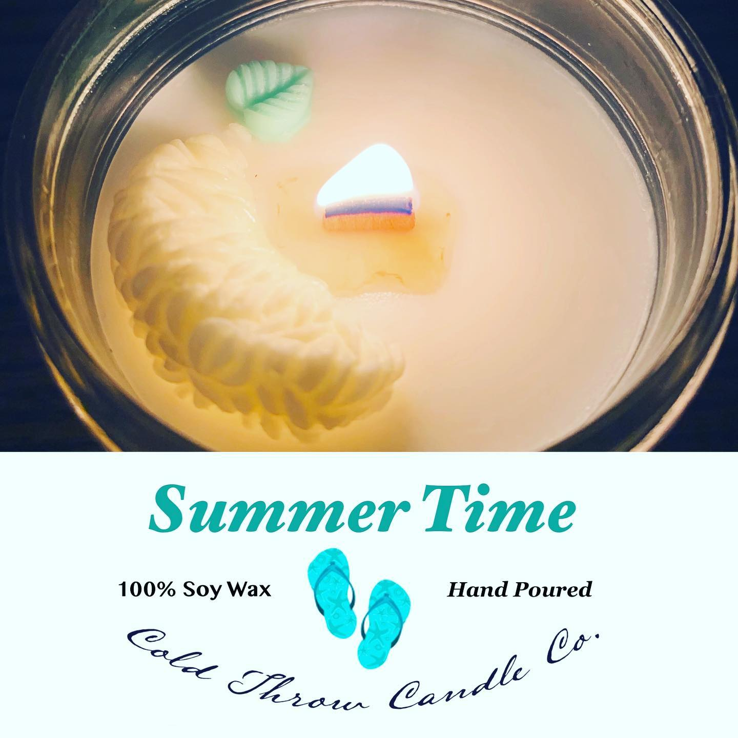 Relax, enjoy the warm sunny days and cool summer nights with this blend of sweet grasses and fresh summer blooms.