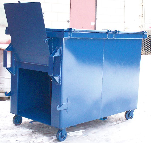 3 Yd. Compactor Container