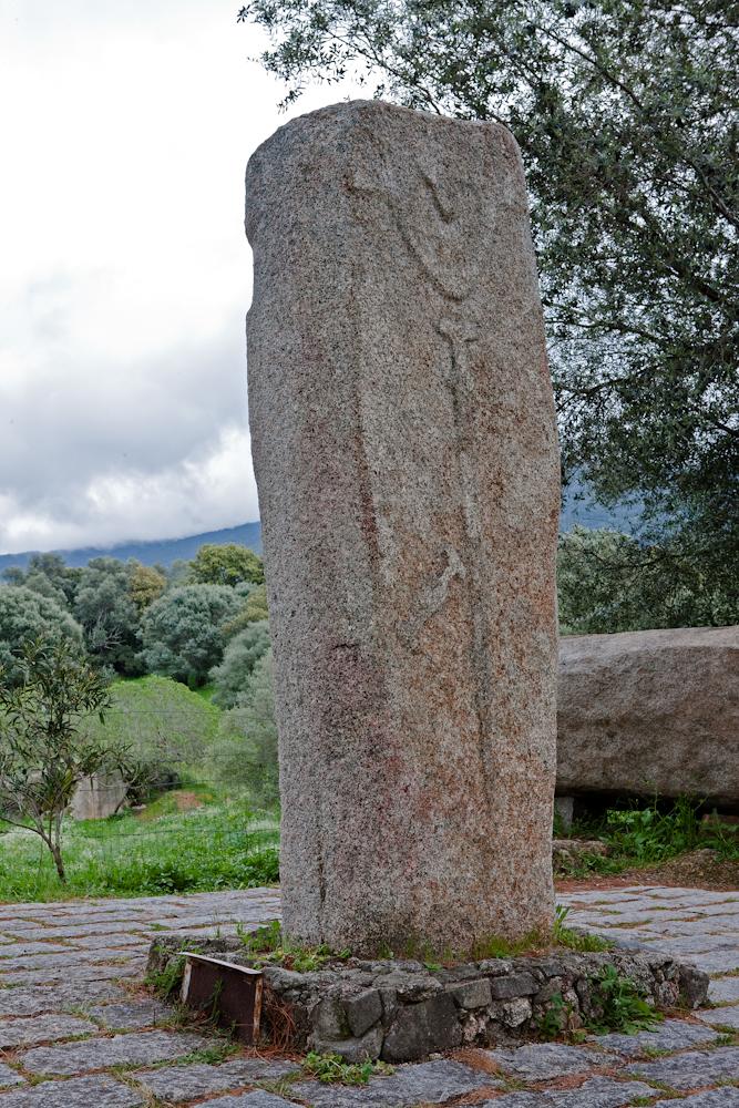 Site mégalithique de  Filitosa et ses  statues-menhirs -  Avrll 2010