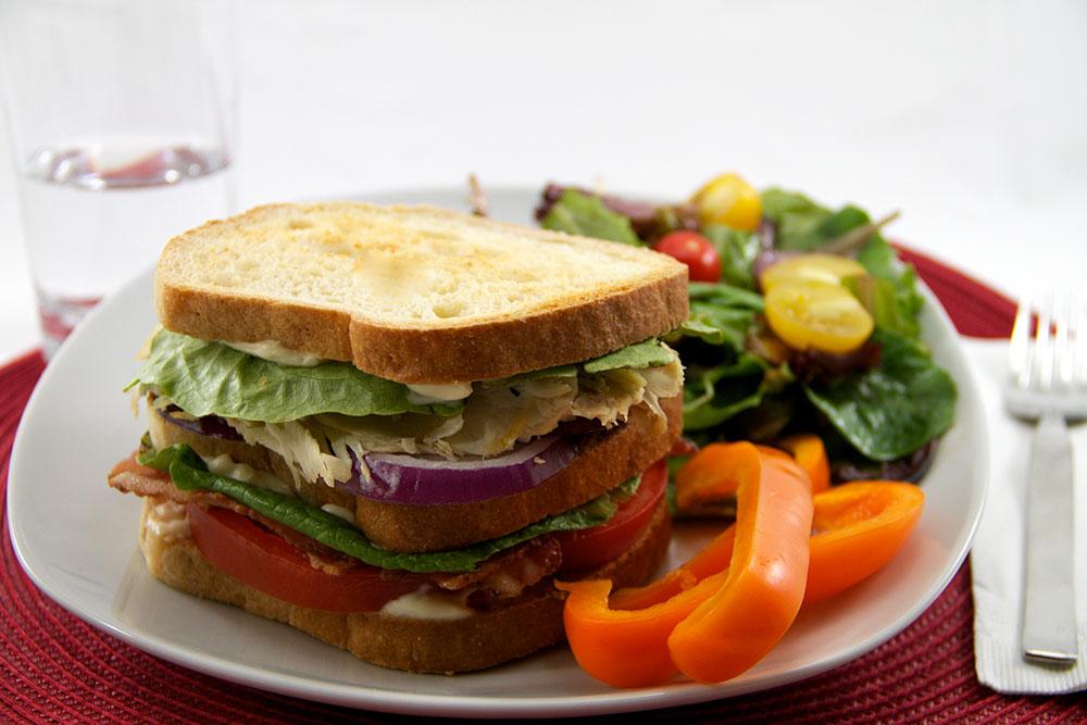 Aidan's Club Sandwich