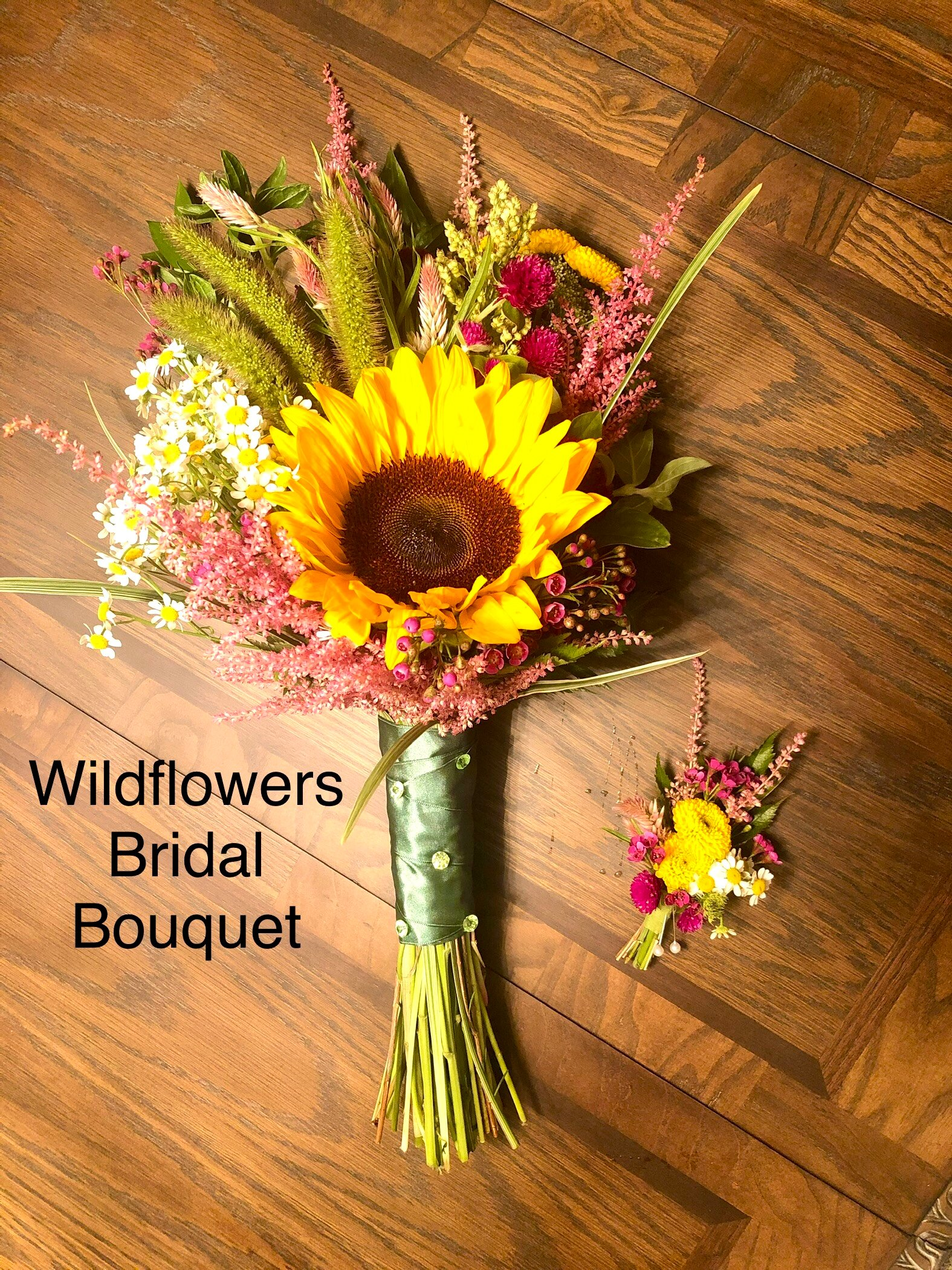 Bridal Bouquet Wildflowers
