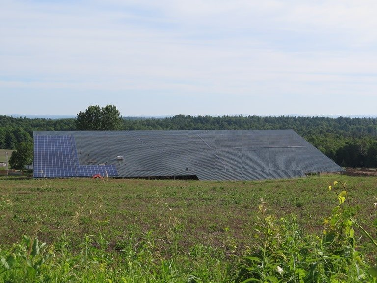 2015 Burnstown - Roof top solar building
