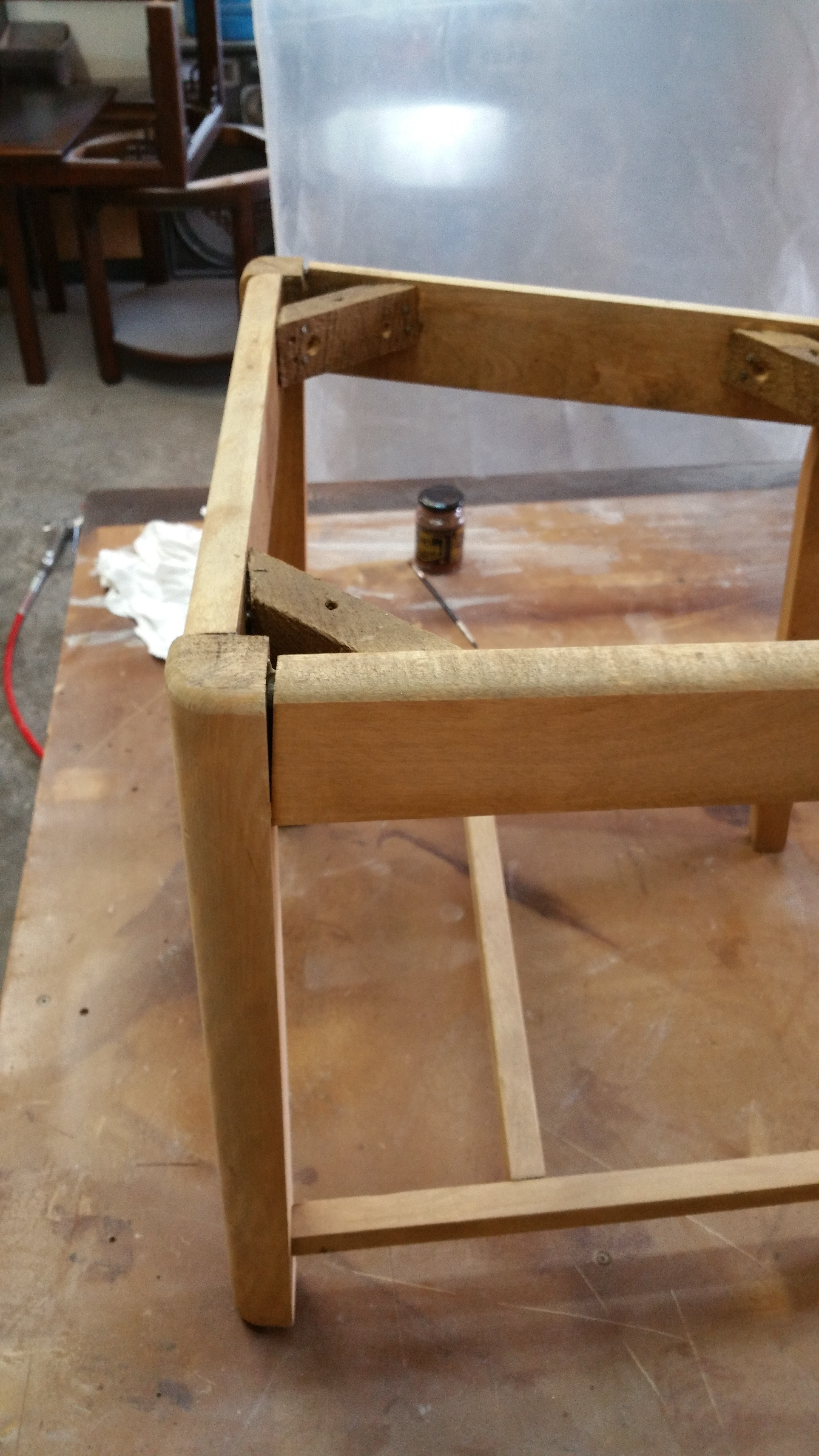 8 chairs needed repair