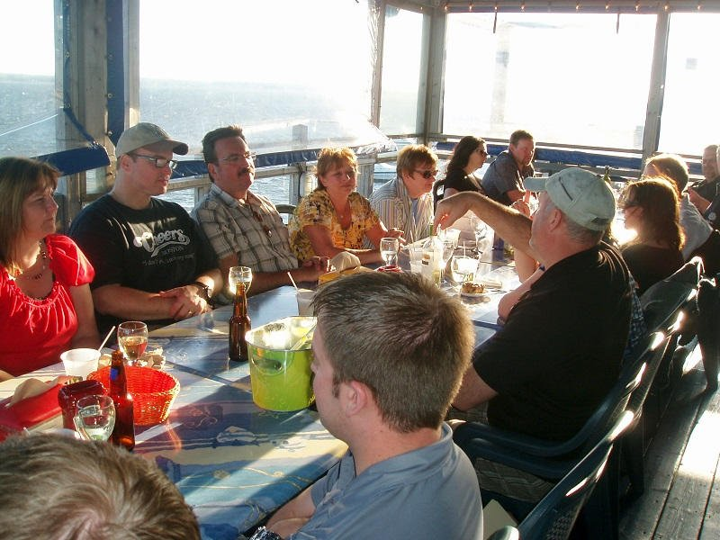 Lobster Kitchen Party Overlooking the Northumberland Strait