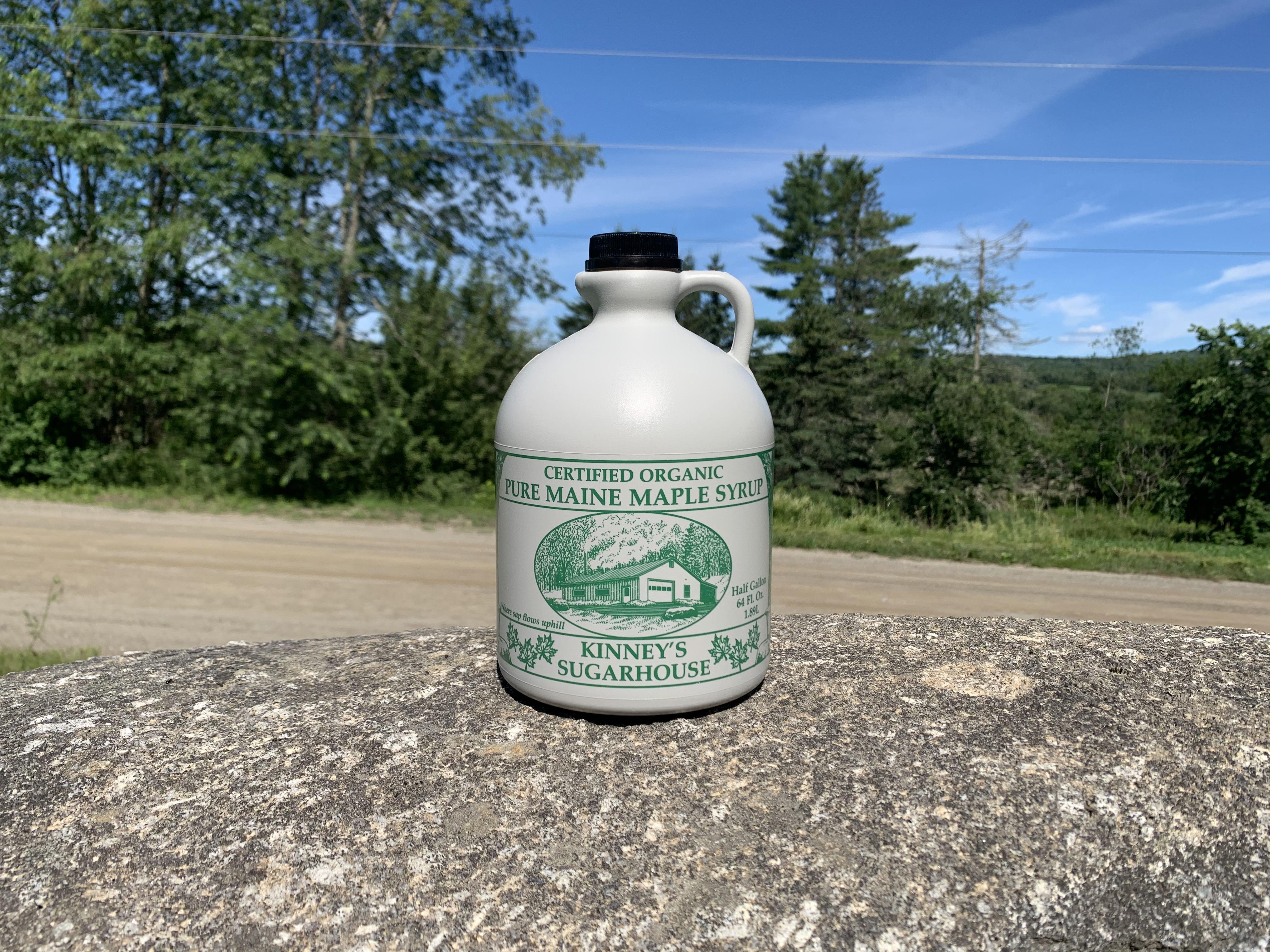 Maple Syrup- Half Gallon