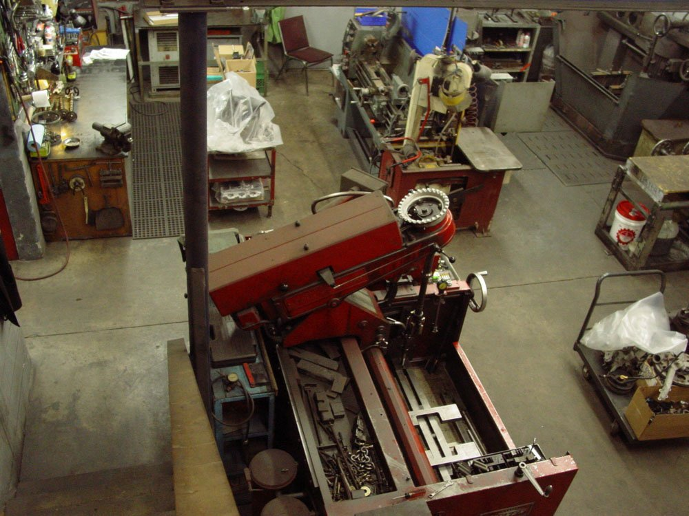 Engine Rebuild Shop Machining