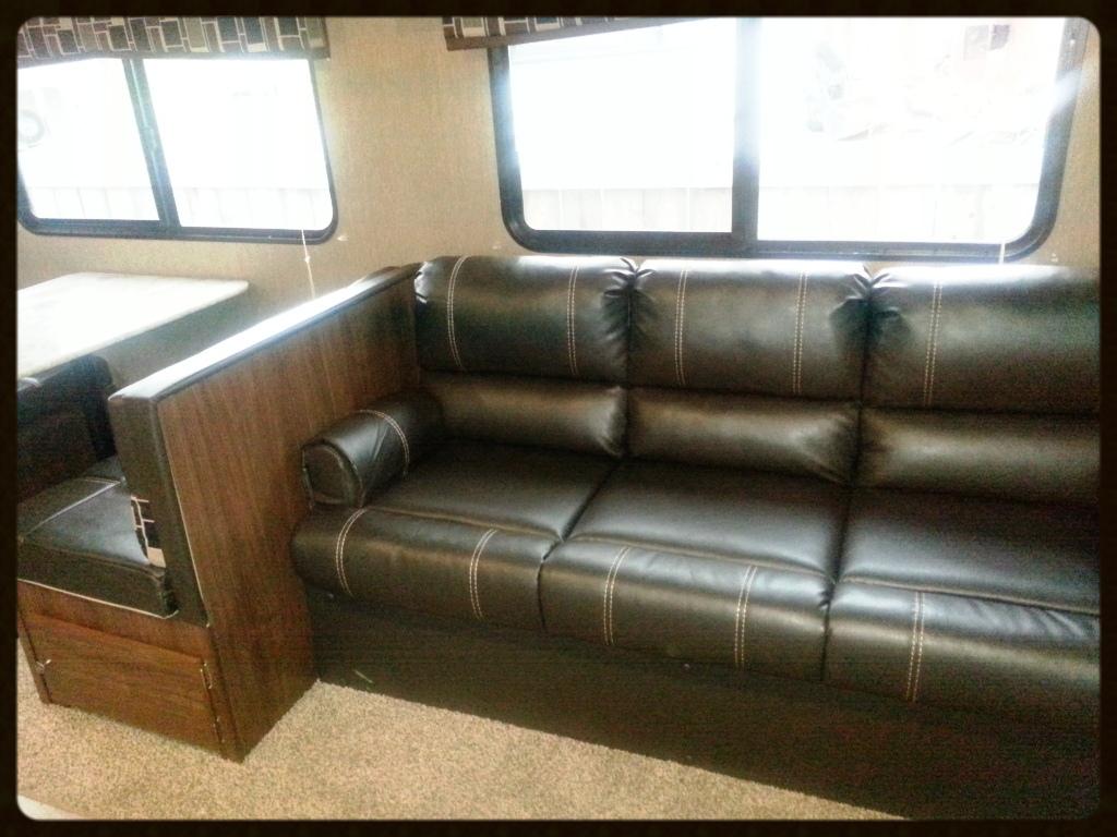 Coleman RV interior
