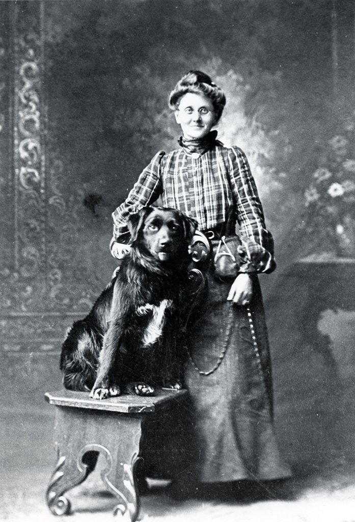 Harriet (Frankland, Lambert) Cheney lived at Three Islands.  A member of several of the founding families of Grand Manan.
