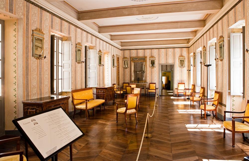 Ajaccio Salle de  réception de la  maison de Napoléon  Bonaparte, qui y Vit le  jour le 15 août 1769  Avril 2010