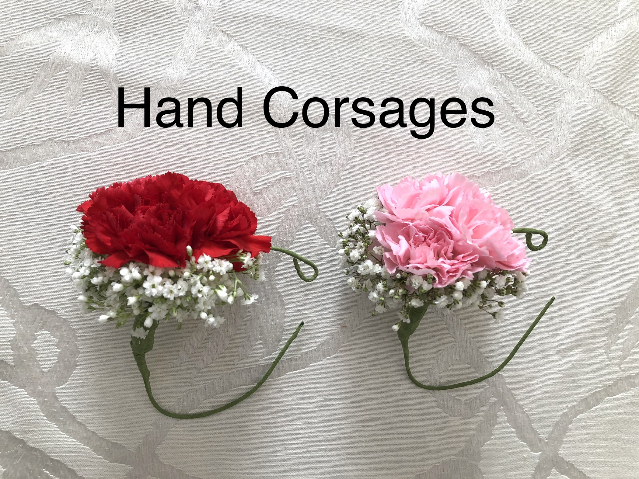 Hand Corsages