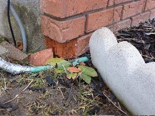Soil Touching Brick