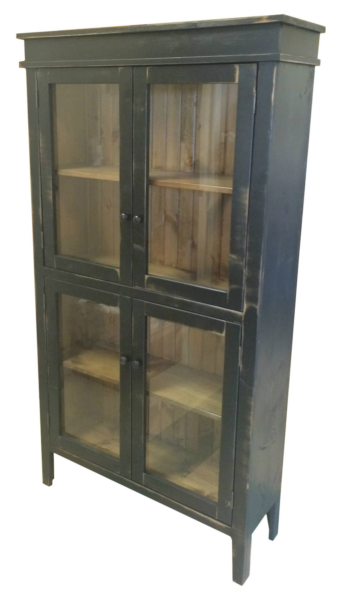 Vintage Black with Classic Stain interior