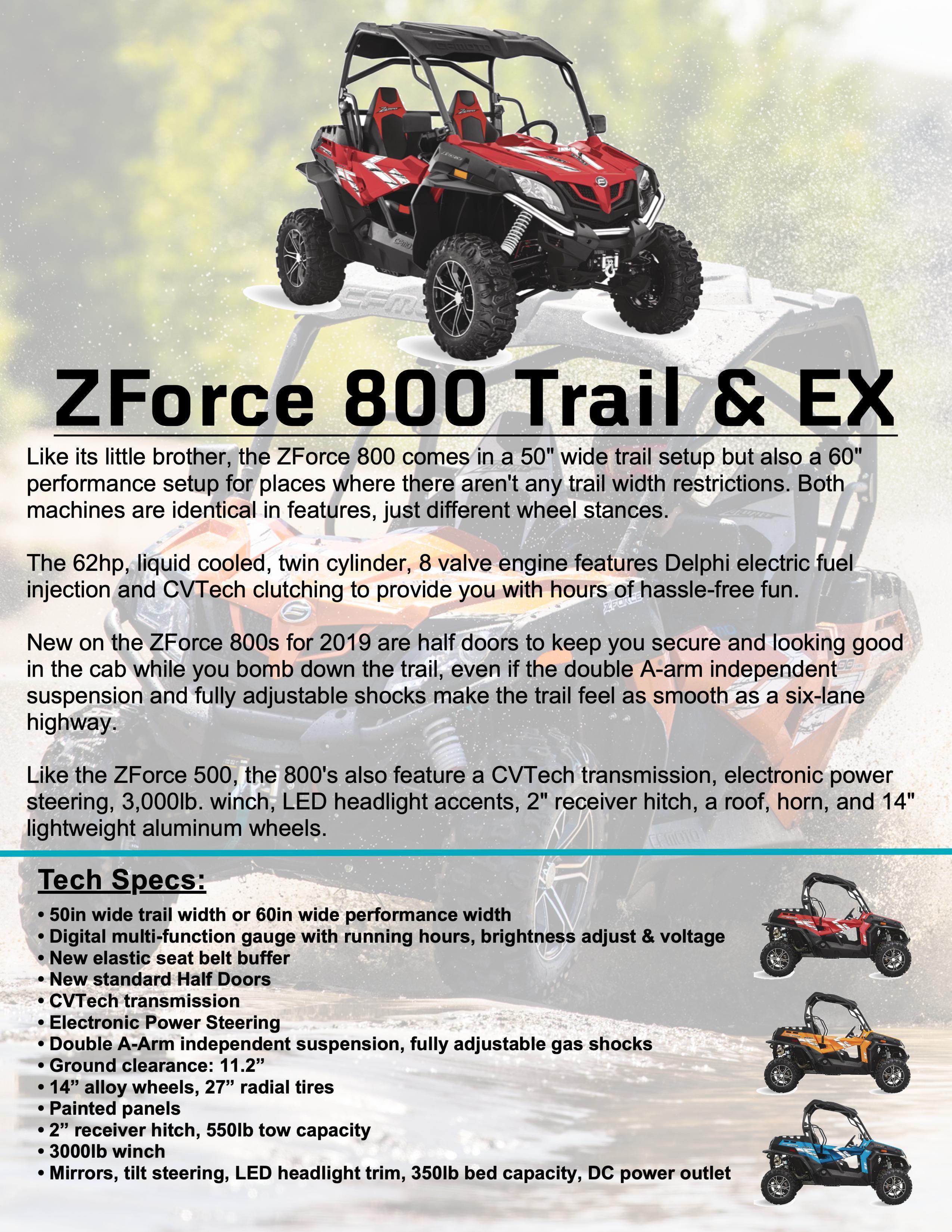 ZFORCE 800