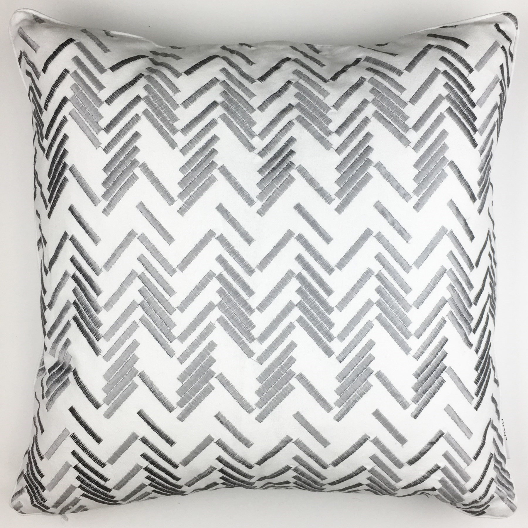 "18"" x 18"" Cotton cover with removable feather insert. $39.99"