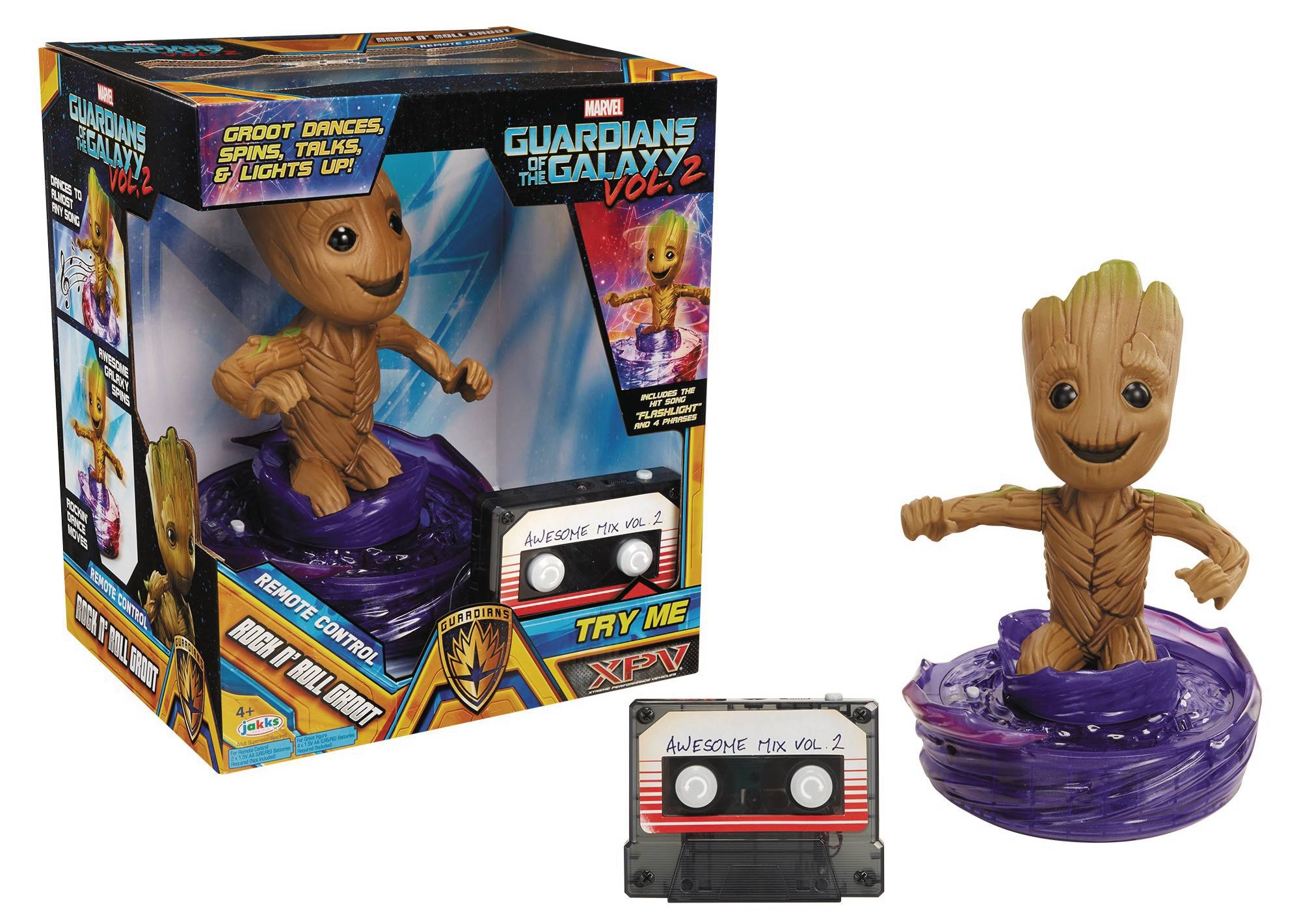 GOTG 2 XPV RC ROCK N ROLL GROOT