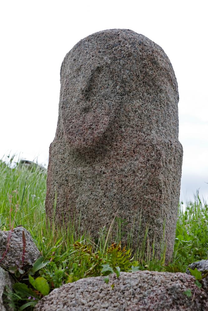 Autre statue - menhir  de Filitosa - Avril  2010