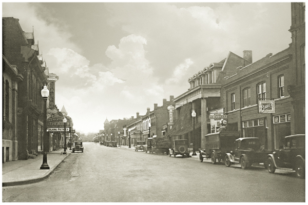 """Downtown Dundas 1929"""