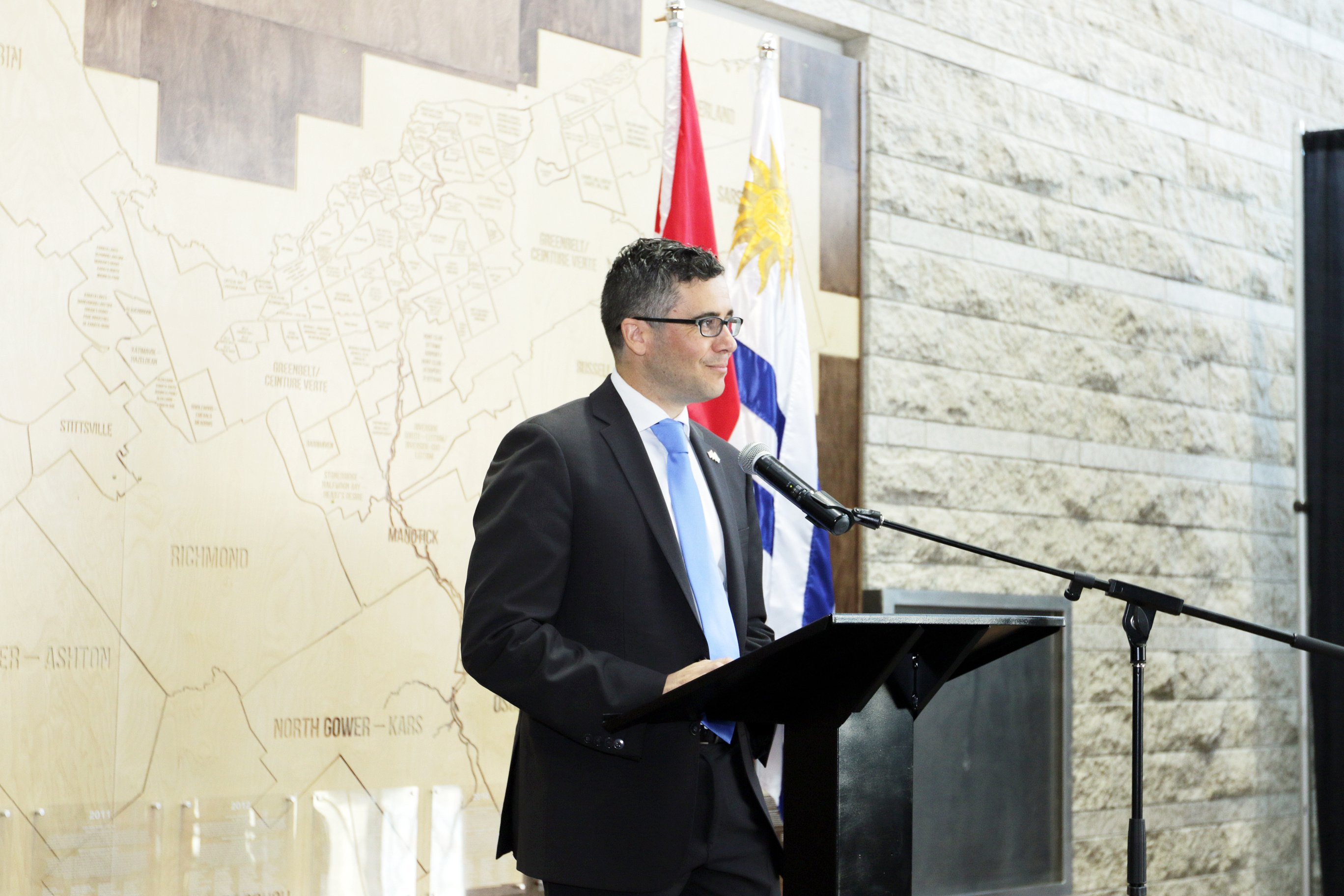 Opening remarks by Ambassador Vidal at the National Day of Uruguay, celebrated on June 19th.