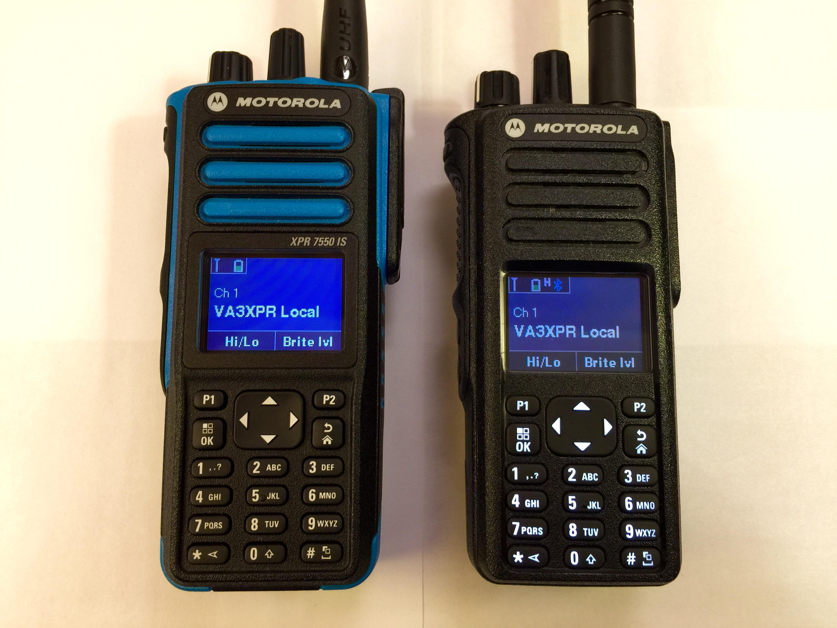 Motorola XPR Series portable