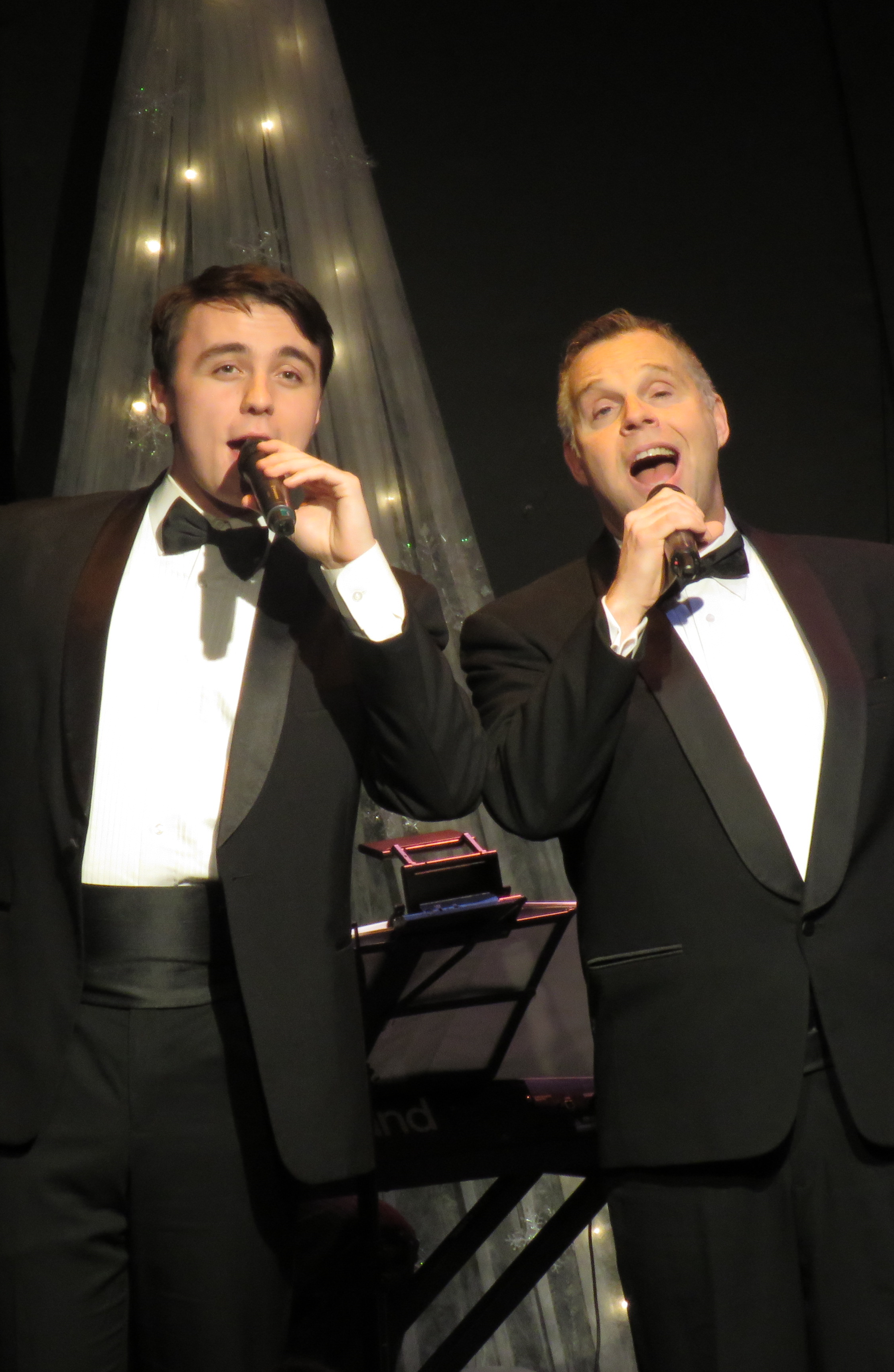 a really Retro CROONER Christmas LINK theatre - McManus Stage at The Grand