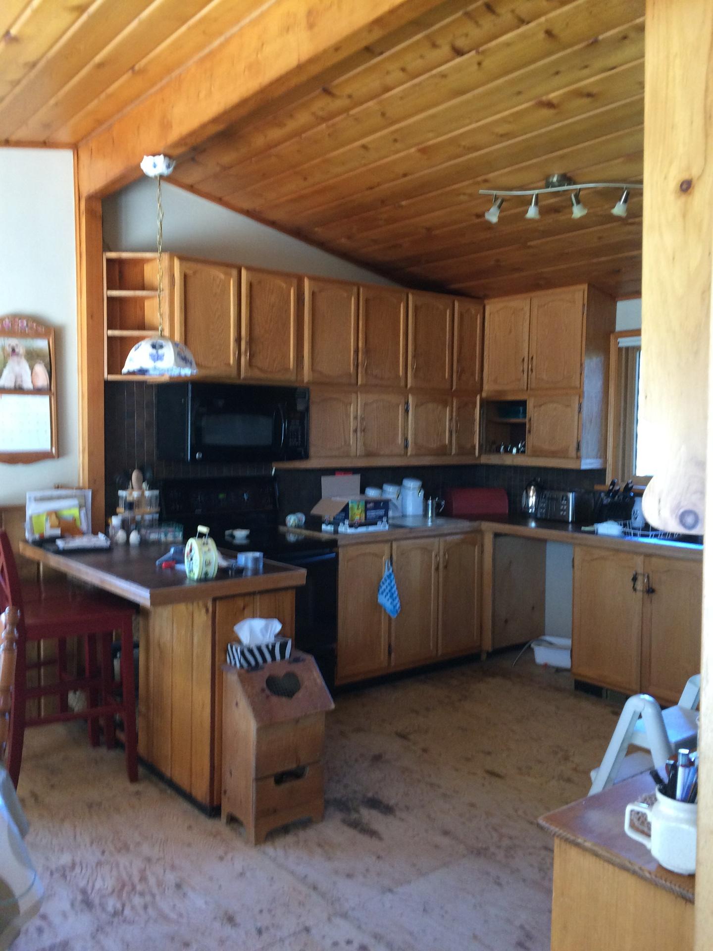 Bobcaygeon Kitchen Before