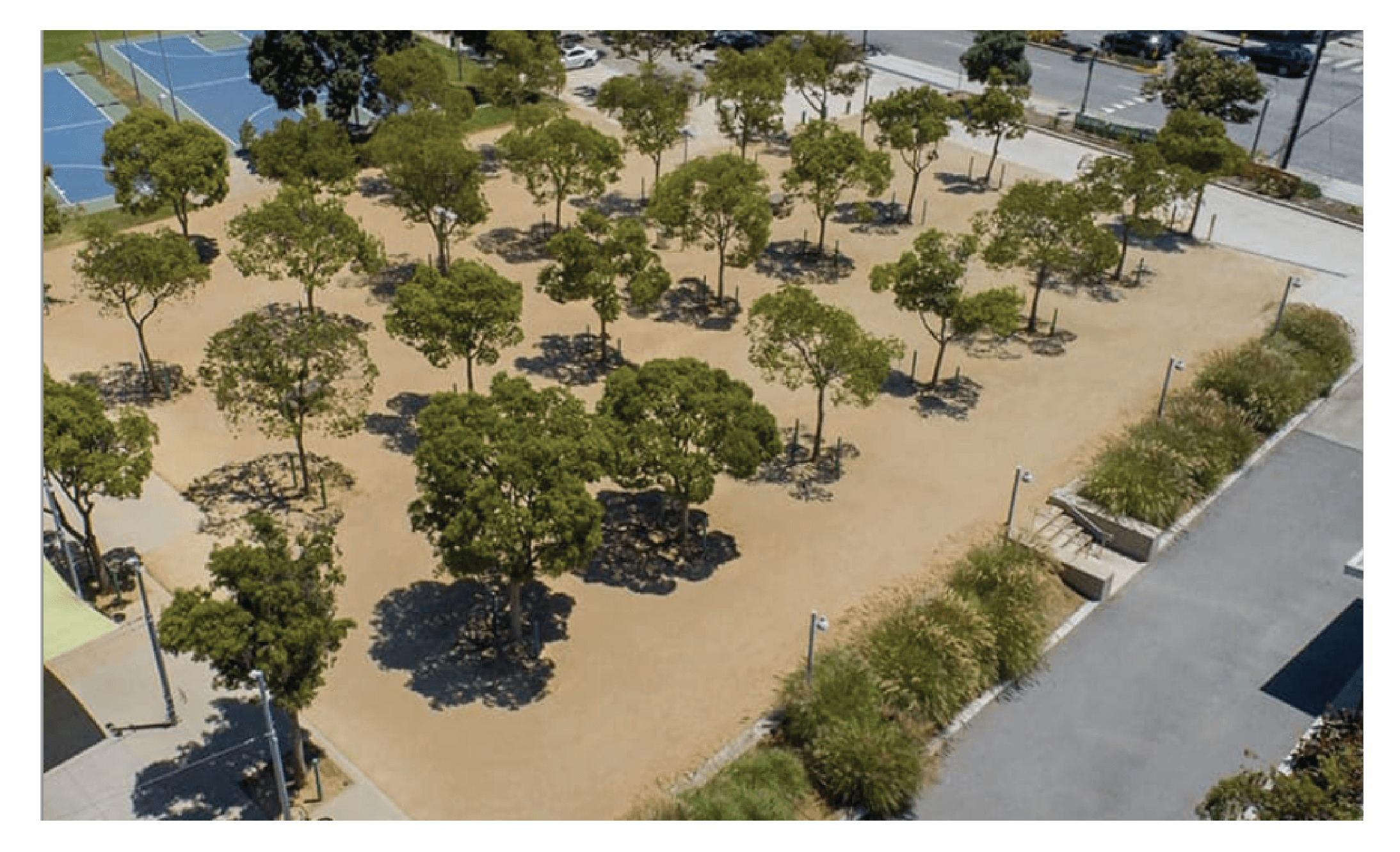 Virginia Park in Santa Monica, CA