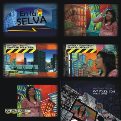 "Since then, I have had my work used in a variety of campaigns in Canada, the US and in South America, where my Urban Series paintings received international exposure through XTOTV Channel 7 from Bolivia. The images were used for the TV show ""En la Selva"" that aired in Bolivia, parts of the United States and parts of Europe throughout 2010-2011. The show received a prestigious award in 2012."