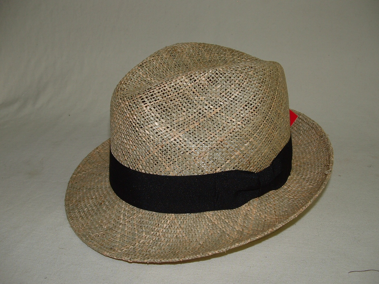 Twisted Linen Straw Fedora