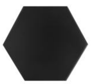 "Domus Black 6.7"" x  5.9"""