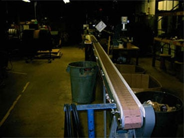 Rubber Extrusion  Cut to Length Line - Preset lengths up to 20' - automatic operations.