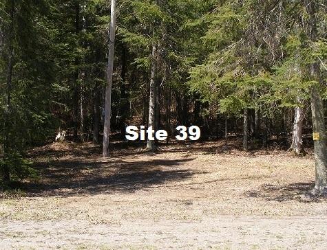 Site 39 - Tent Site -No Services