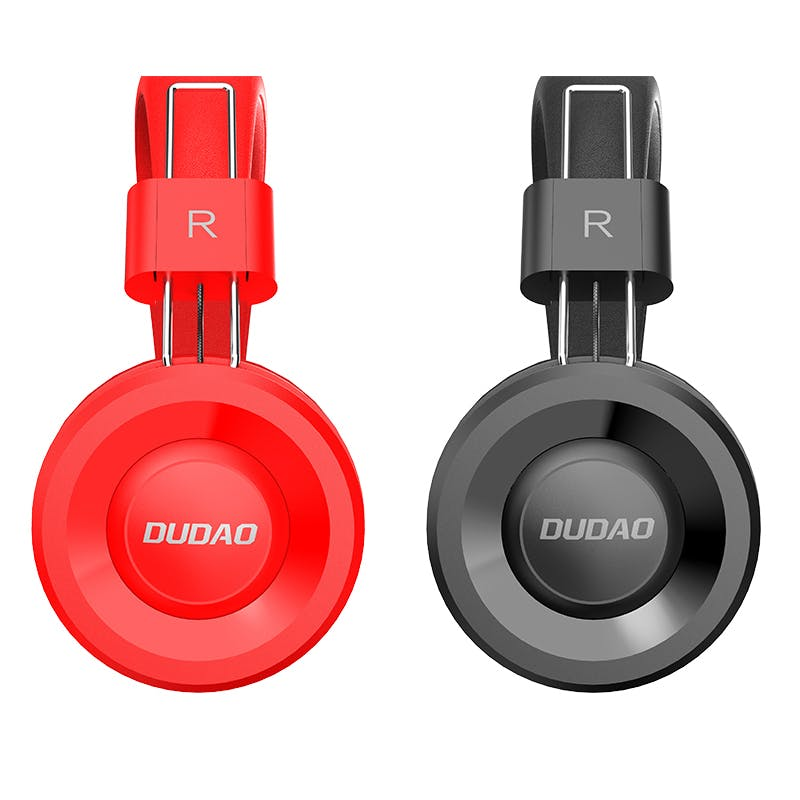 Foldable Wired Headset (Brand: Dudao)