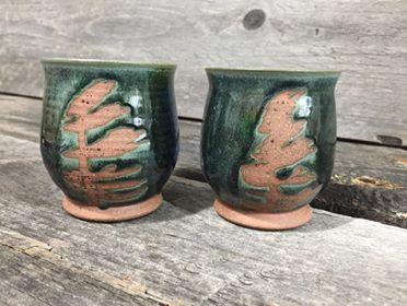 "Tree Wine Cup 3.25"" x 2.75"" $22"