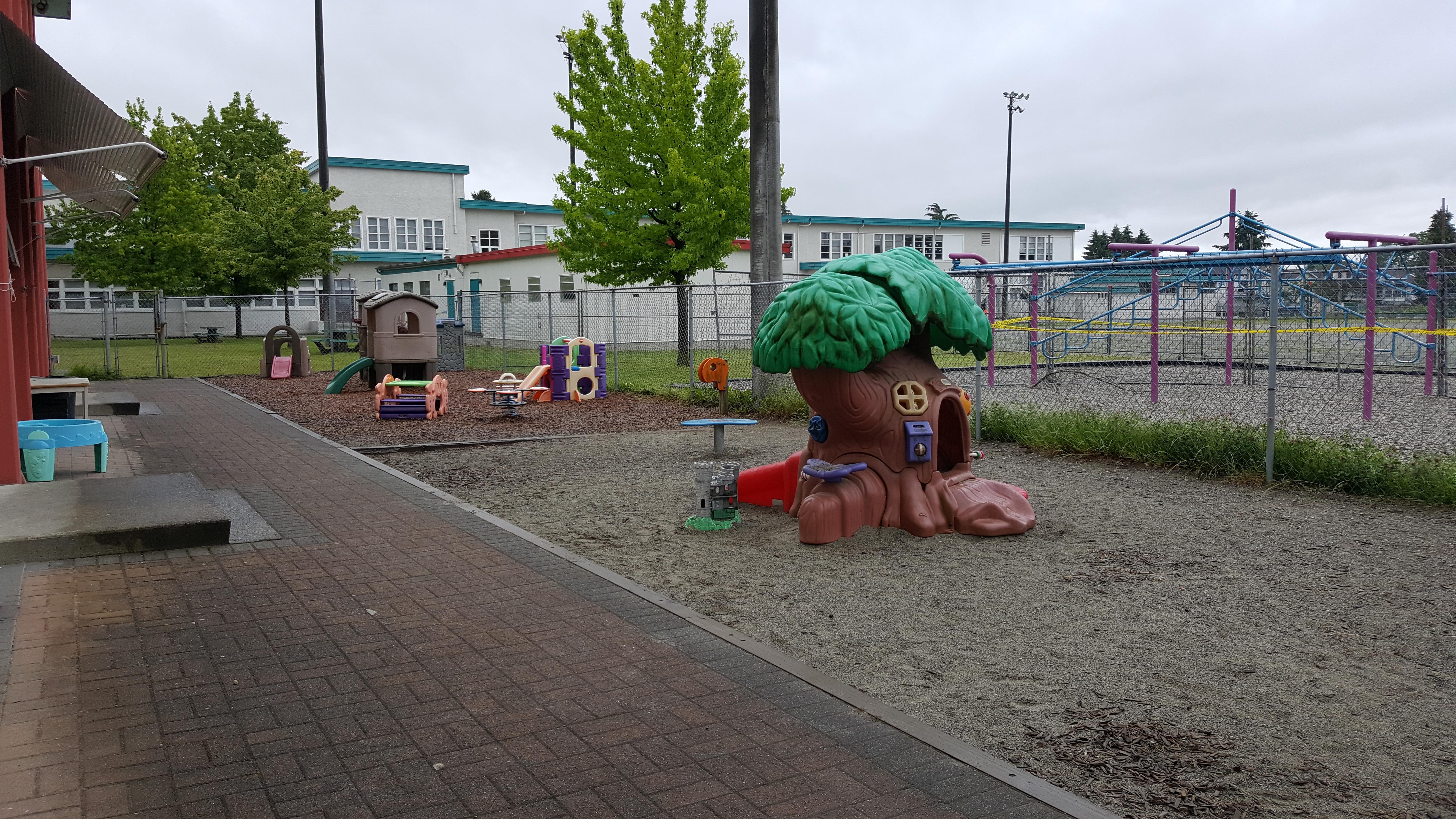 Playground - children under 3