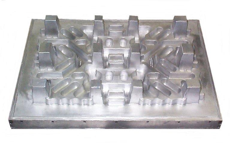 Aluminum Vacuum Form Tray Mold