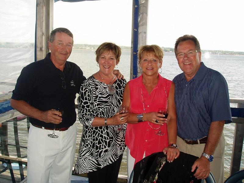 Lobster Kitchen Party Kirk and Judy Bavis Premela Bastarache, and Brian Hildreth