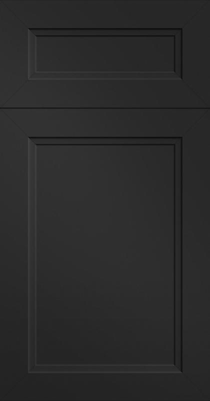 Beveled Black Velvet